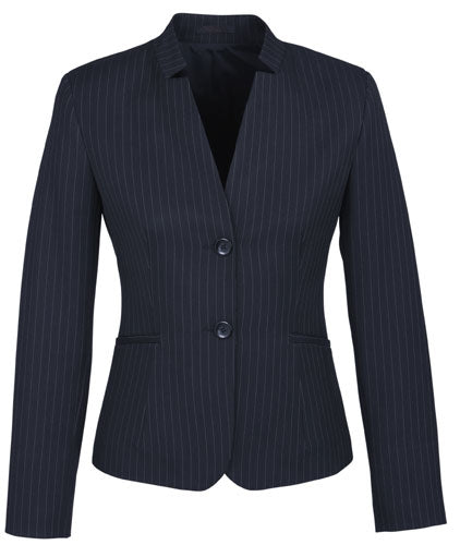 Ladies Short Jacket with Reverse Lapel - Corporate Clothing