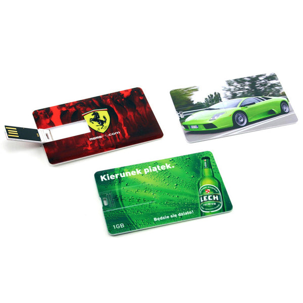 Plastic Credit Card Style USB Flash Drive - Promotional Products