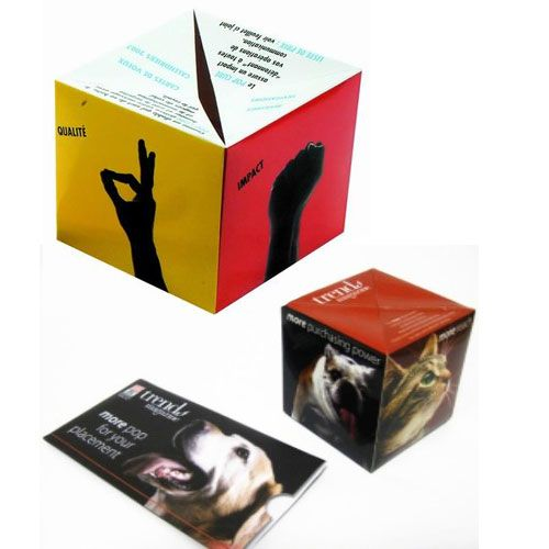 Pop Up Paper Cube - Promotional Products
