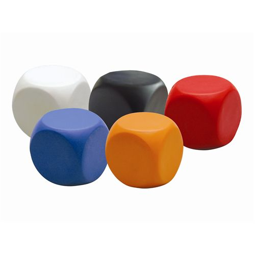 Promo Stress Cube with rounded corners - Promotional Products