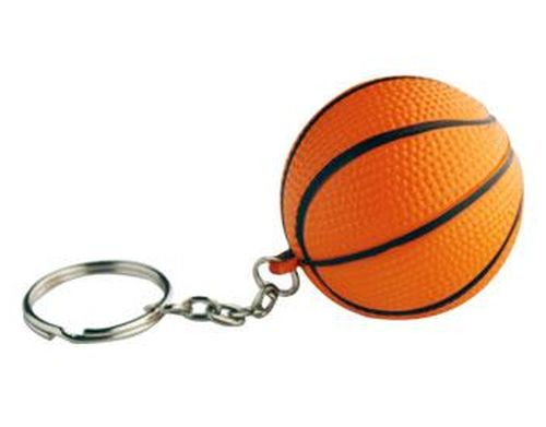 Promotional Stress Basketball Keyring