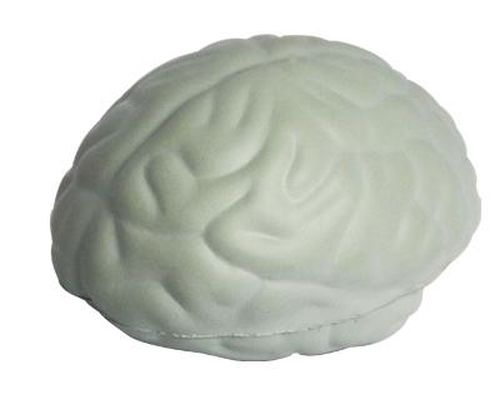 Promotional Stress Brain - Grey - Promotional Products