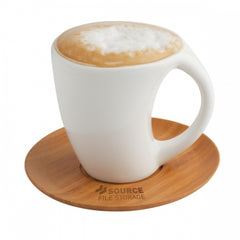 Classic Mug & Saucer Set - Promotional Products