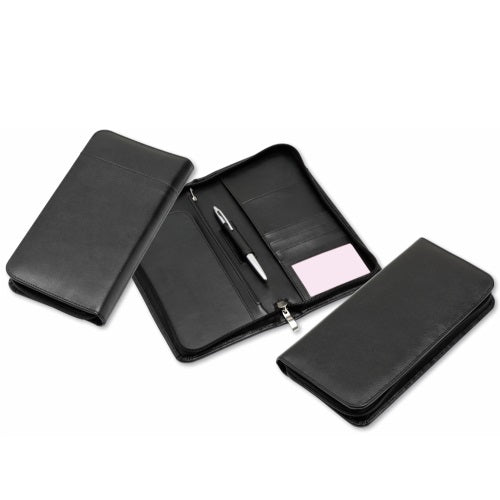 R&M Genuine Leather Travel Wallet - Promotional Products