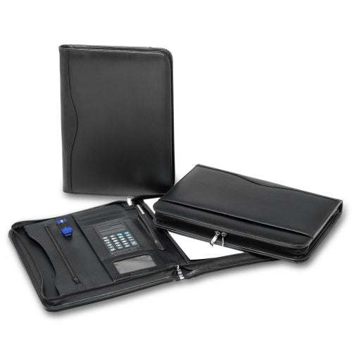 R&M Leather Compendium with Calculator - Promotional Products