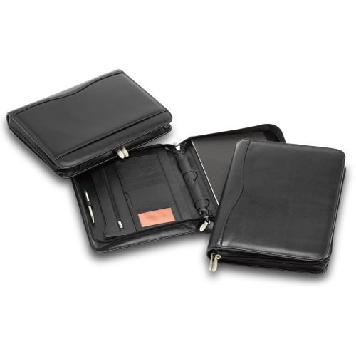 R&M Leather Ring Binder Compendium - Promotional Products