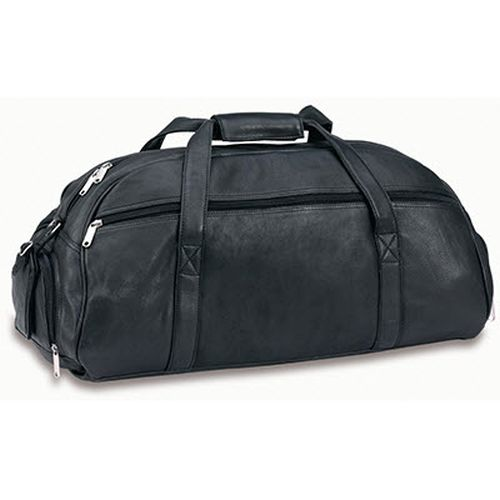 R&M Premium Leather Sports Bag - Promotional Products