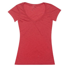 Aston Raw Cotton V Neck TShirt - Promotional Products