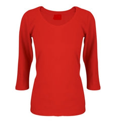 Logo Ladies 3/4 Sleeve TShirt - Corporate Clothing