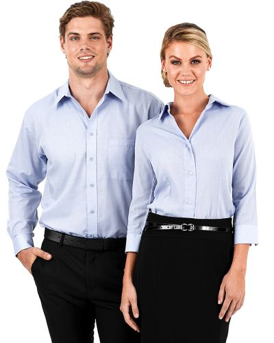 Reflections Oxford Weave Business Shirt - Corporate Clothing
