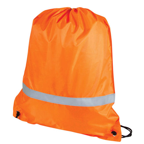 Reflective Backsack - Promotional Products