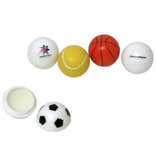 Retreat Sports Ball Lipbalm - Promotional Products