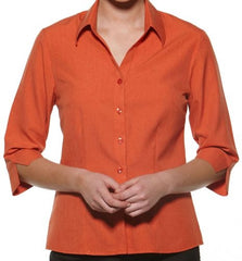 Health Care Ladies 3/4 Sleeve Shirt - Corporate Clothing