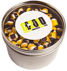 Yum Round Tin with Window - Promotional Products
