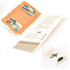 Seed 10 Stick Greeting Card - Promotional Products