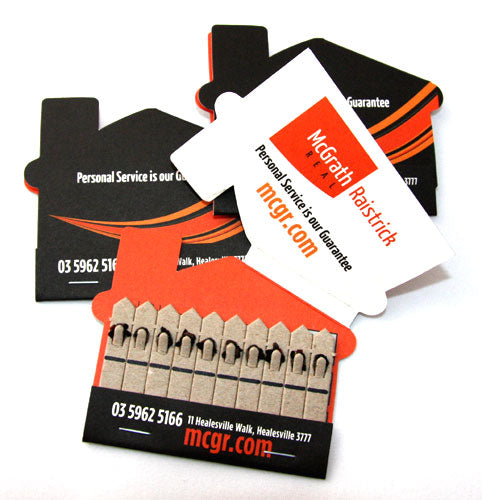 Seed 10 Stick House Shape Pack - Promotional Products