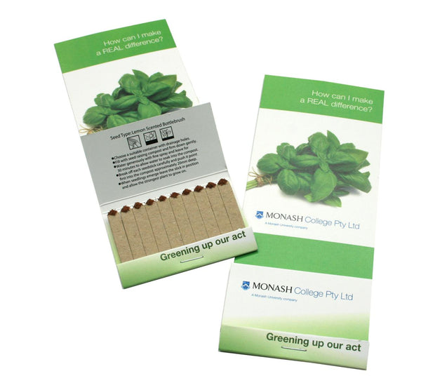 Seedbook Header Card with Magnet - Promotional Products