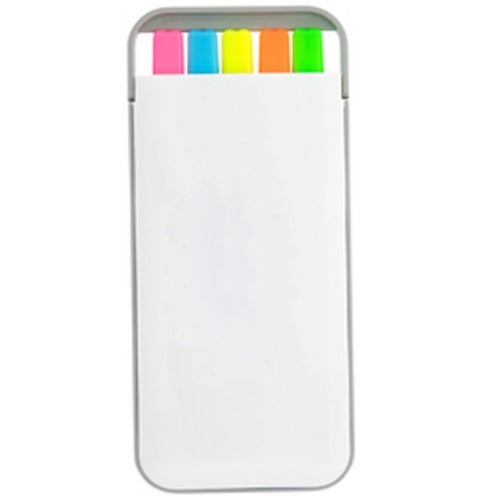 Econo 5 in 1 Highlighter Set - Promotional Products