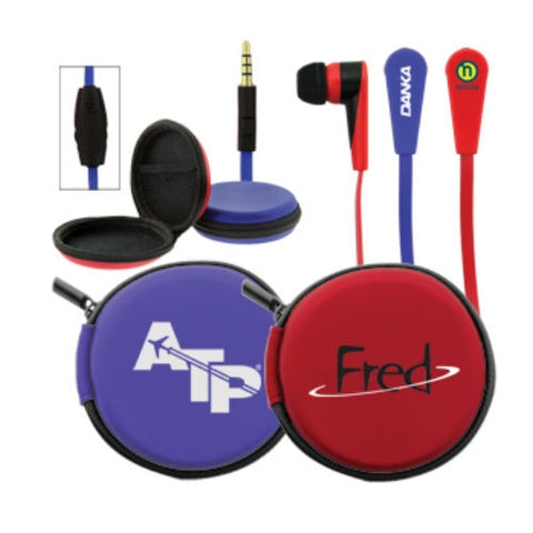 Econo Microphone Earbuds - Promotional Products