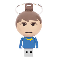 Tekno Ball Keychain USB People - Promotional Products