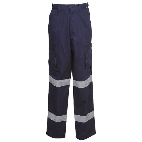 Cargo Pants with Reflective Tape - Day/Night Use - Corporate Clothing