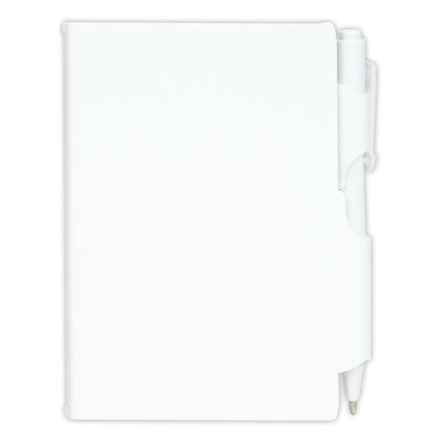 Bleep Plastic Pocket Notebook With Pen - Promotional Products