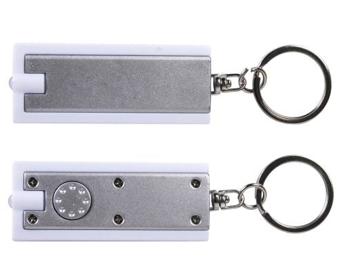 Bleep Rectangular Flashlight Keyring - Promotional Products
