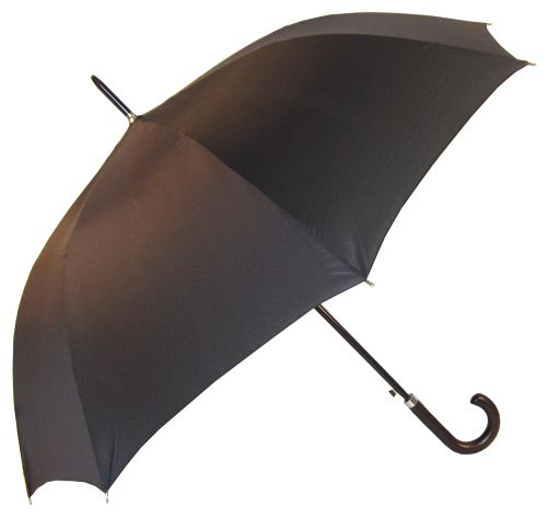 Wooden Hook Handle Premium Umbrella - Promotional Products