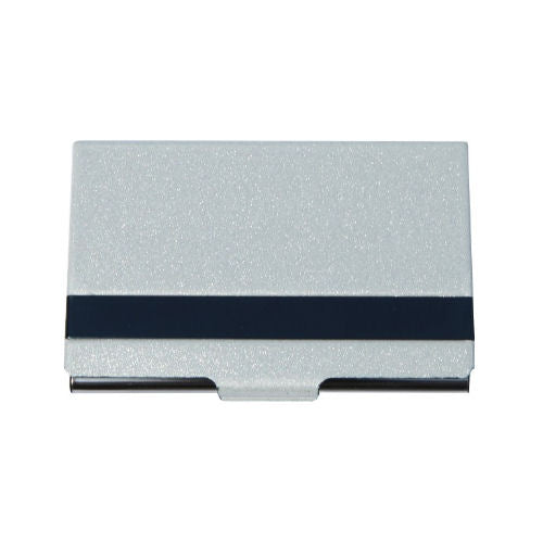 Arc Stripe Business Card Holder - Promotional Products