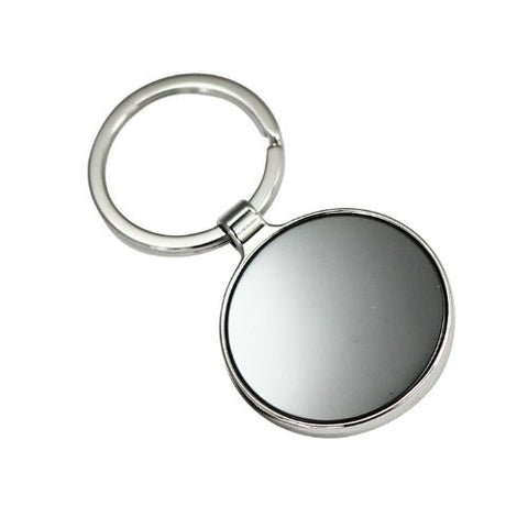 Arc Round Keyring with Double Sided Plate - Promotional Products