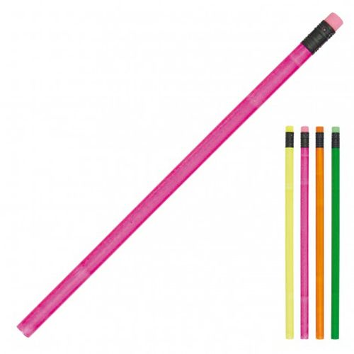 Cambridge Fluro Unsharpened Pencils - Promotional Products
