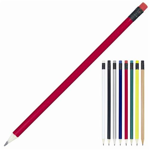 Cambridge Sharpened Pencil with Eraser - Promotional Products