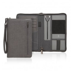 Cambridge Travel Wallet with inbuilt Phone Charger - Promotional Products