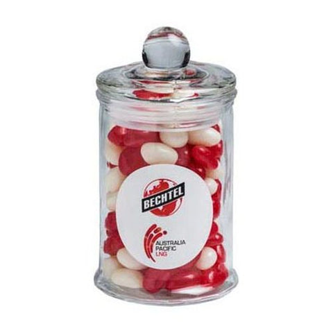 Yum Small Glass Lolly Jar - Promotional Products