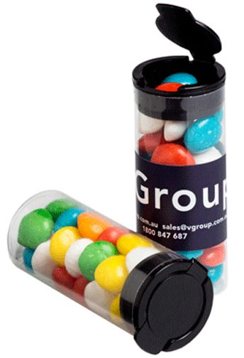 Yum Flip Cap Lolly Tube - Promotional Products