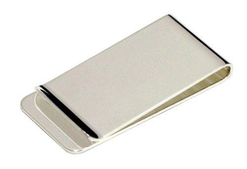 Avalon Nickel Plated Money Clip - Promotional Products