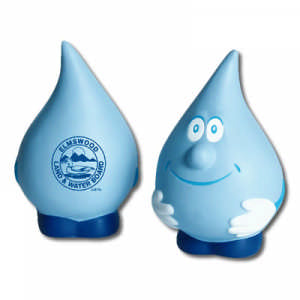 Bleep Stress Water Drop - Promotional Products