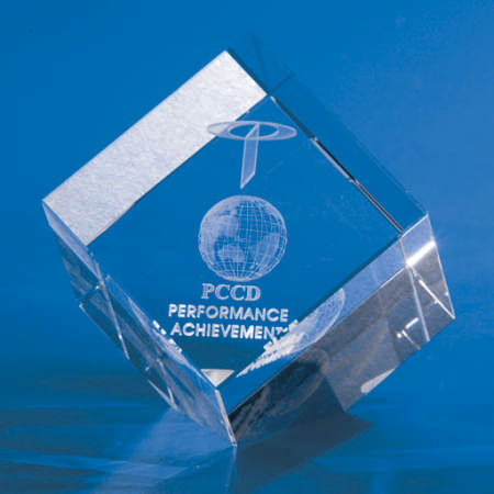 Kapture Diamond Crystal Award - Promotional Products