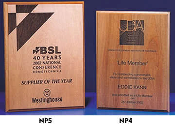 Natural Plaques - Promotional Products