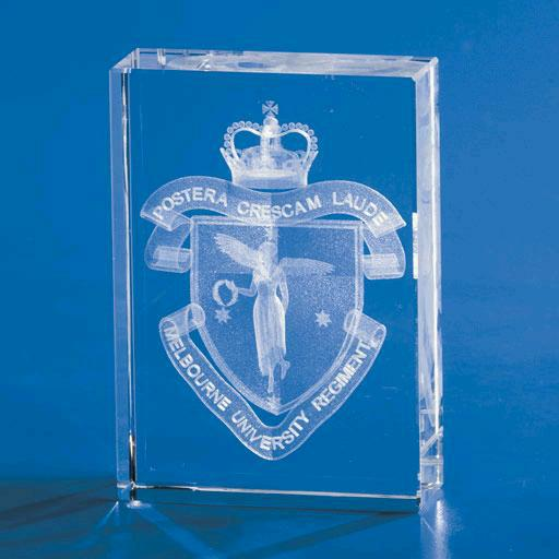 Kapture Flat Tower Crystal Award - Promotional Products