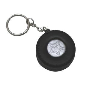 Promo Stress Tyre Keyring - Promotional Products