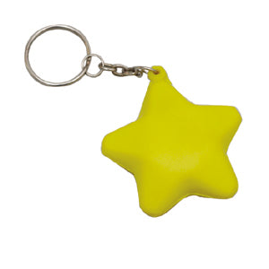 Promo Stress Star Keyring - Promotional Products