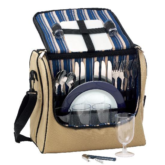 Oxford Adventure 4 Setting Picnic Bag - Promotional Products