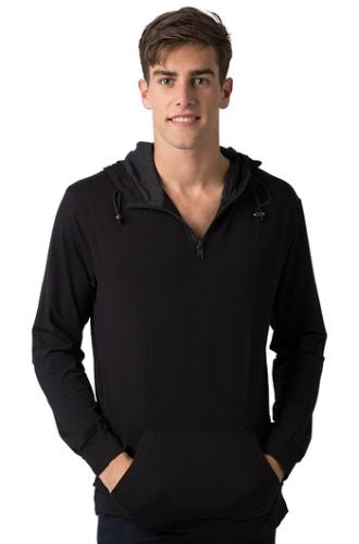 Falcon Long Sleeve Hoodie Tee - Corporate Clothing