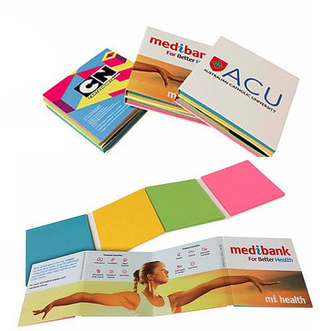 Combination Pad - Expandable Booklet - Promotional Products
