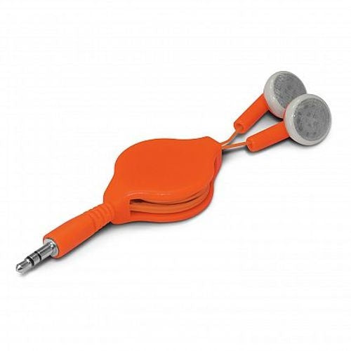 Eden Retractable Ear Buds - Promotional Products