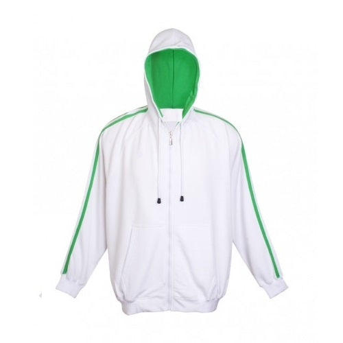 Aston Stripe Zippered Hoodie - Corporate Clothing