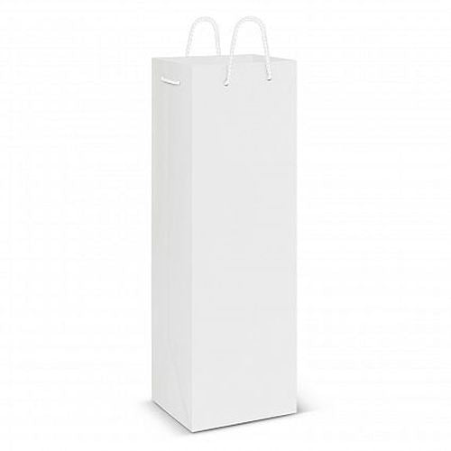 Eden Gloss Paper Wine Bag - Promotional Products