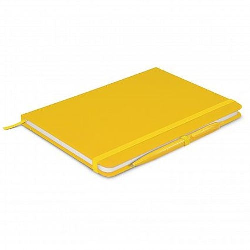 Eden A5 Coloured Notebook with Pen - Promotional Products