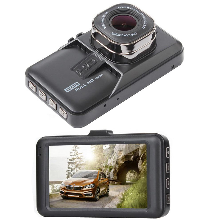 Cámara Para Carro Dvr Full Hd 1080p + Memoria 32GB